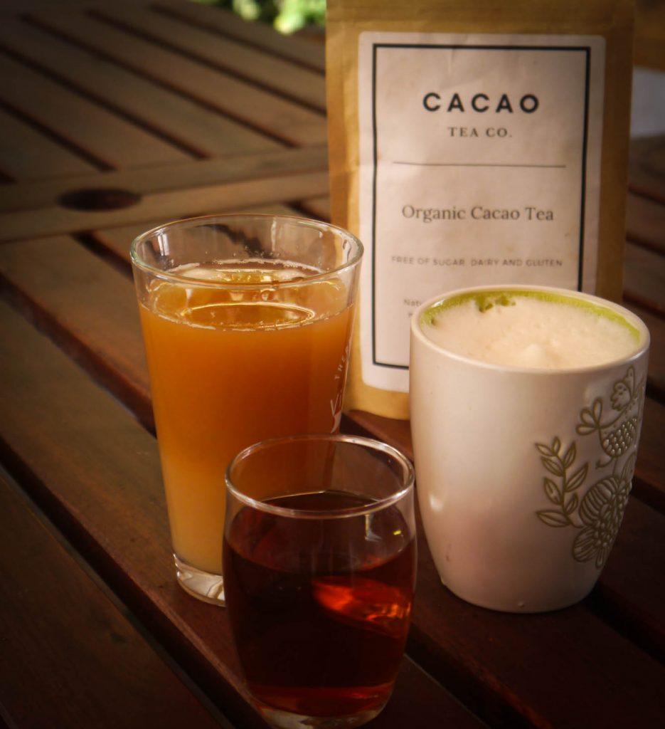 Cacao Tea served as a
